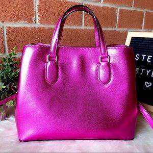 kate spade Bags - Kate Spade Laurel Way Evangelie Pink Satchel Bag